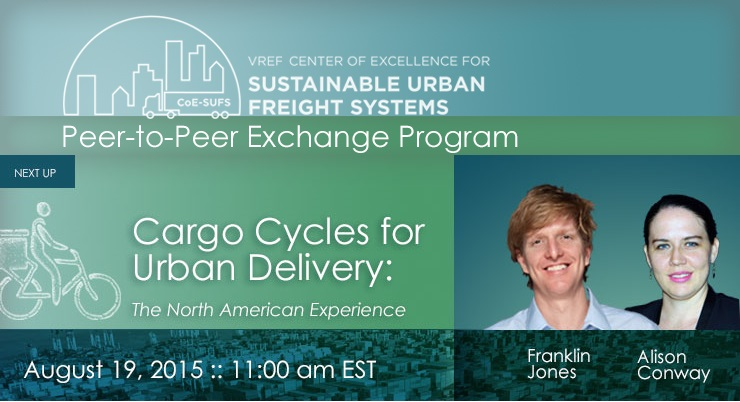 Cargo Cycles for Urban Delivery:  North American Experience